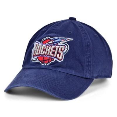 ミッチェル&ネス メンズ 帽子 アクセサリー Houston Rockets Hardwood Classic Basic Adjustable Dad Hat Navy