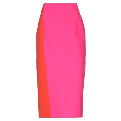 MARINA RINALDI 7分丈スカート フューシャ 50 レーヨン 65% / ナイロン 30% / ポリウレタン 5% 7分丈スカート