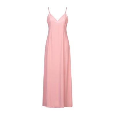 PERSEVERANCE ロングワンピース&ドレス ピンク 10 ポリエステル 100% ロングワンピース&ドレス