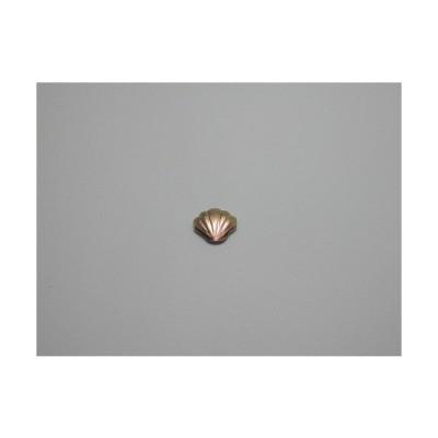 新潟 燕三条 純チタンピアス 片耳 シェル ベビーピンク  金属アレルギーの方も安心