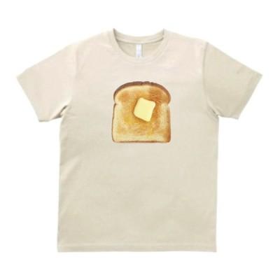 バタートースト 食べ物 飲み物 Tシャツ サンド