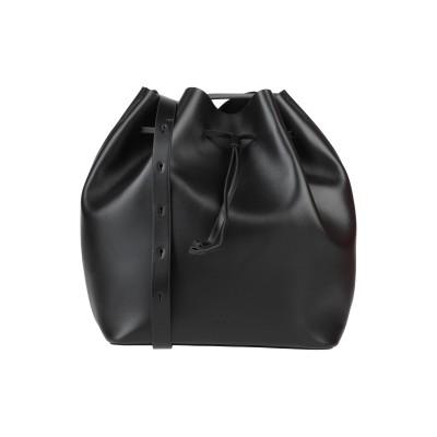 AESTHER EKME メッセンジャーバッグ ブラック 革 メッセンジャーバッグ