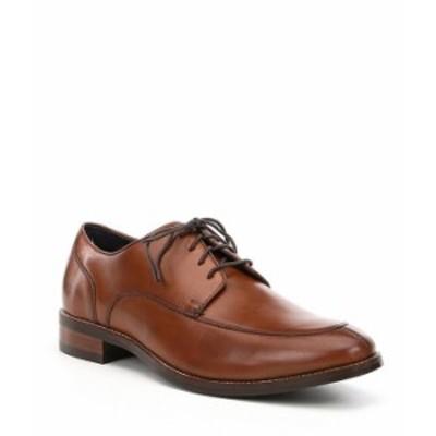 コールハーン メンズ ドレスシューズ シューズ Men's Lenox Hill Split Toe Oxfords British Tan