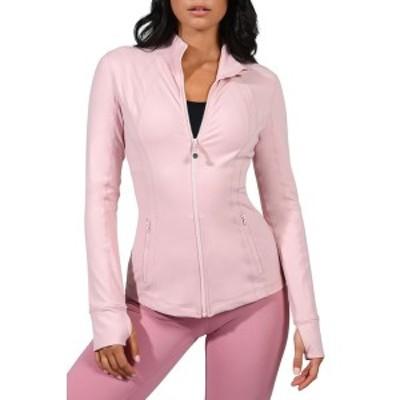 90ディグリー レディース ジャケット&ブルゾン アウター Full Zip Long Sleeve Jacket SHADOW PETAL