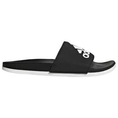 アディダス サンダル レディース シューズ Adilette CF Plus Slide Core Black/White/Core Black | Logo