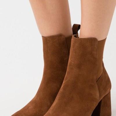 ヴェロモーダ レディース 靴 シューズ VMJOY BOOT - Classic ankle boots - emperador