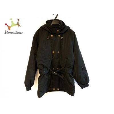 デサント DESCENTE ダウンコート サイズL レディース - 黒 長袖/冬   スペシャル特価 20210304