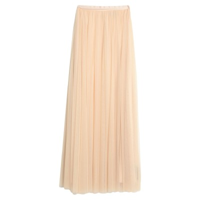 NEEDLE & THREAD ロングスカート ローズピンク 10 ナイロン 100% ロングスカート