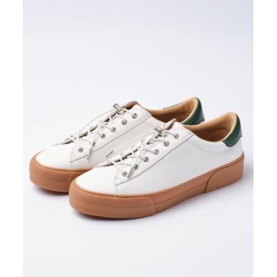 SLACK FOOTWEAR / ELCLUDE/エルクルード 本革スニーカー MEN シューズ > スニーカー
