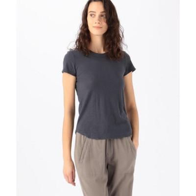 tシャツ Tシャツ スラブジャージー クルーネックTシャツ WUA3037
