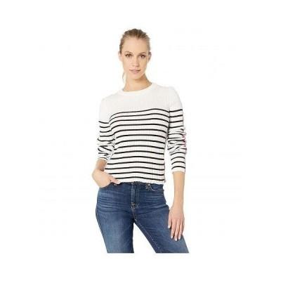 Bishop + Young レディース 女性用 ファッション セーター Marina Crop Sweater - Black Stripe