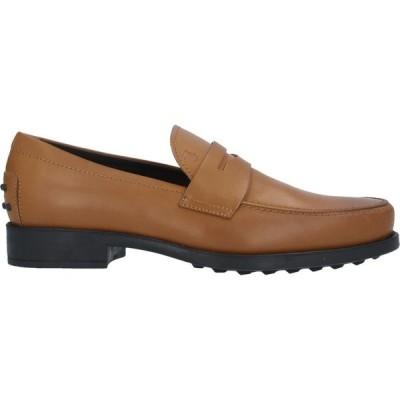 トッズ TOD'S メンズ ローファー シューズ・靴 loafers Khaki
