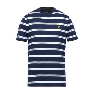 ライルアンドスコット LYLE & SCOTT T シャツ ダークブルー S コットン 100% T シャツ