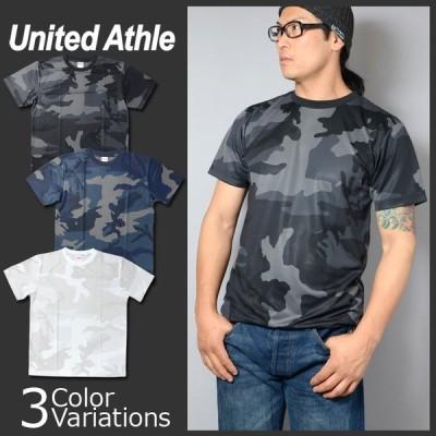United Athle(ユナイテッドアスレ) 4.1オンス ドライアスレチック カモフラージュ Tシャツ 5906-01