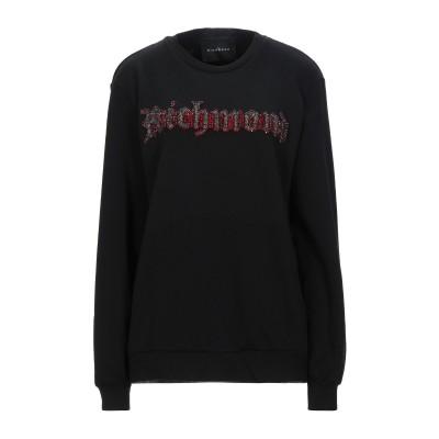 ジョン リッチモンド JOHN RICHMOND スウェットシャツ ブラック S コットン 100% スウェットシャツ