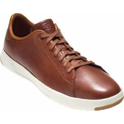 コールハーン メンズ スニーカー シューズ Men's Cole Haan GrandPro Tennis Sneaker Woodbury Handstain Leather