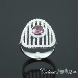 【Celosa珠寶】圓夢紅寶戒指
