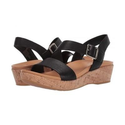 Kork-Ease コークイーズ レディース 女性用 シューズ 靴 サンダル Minihan - Black Full Grain