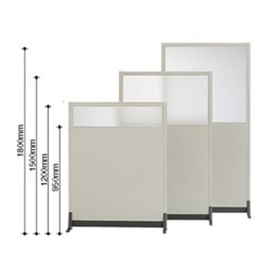 コクヨ/パーティションE 上面ガラスパネル増連 W450×H1200