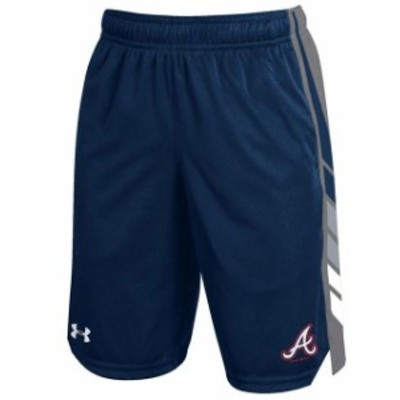 Under Armour アンダー アーマー スポーツ用品  Under Armour Atlanta Braves Youth Navy Select Shorts