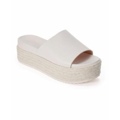 ケイトスペード レディース サンダル シューズ Zia Flatform Sandals Parchment