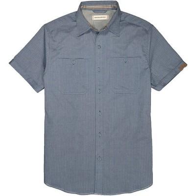 ダコタグリズリー シャツ メンズ トップス Dakota Grizzly Men's Booker SS Shirt Storm