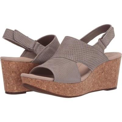 クラークス Clarks レディース サンダル・ミュール シューズ・靴 Annadel Sky Sage Interest Nubuck