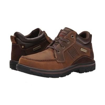 SKECHERS スケッチャーズ メンズ 男性用 シューズ 靴 ブーツ レースアップ 編み上げ Relaxed Fit Segment - Melego - Dark Brown