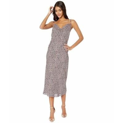 キキデモントパーネス ナイトウェア アンダーウェア レディース Simple Slip Dress Leopard