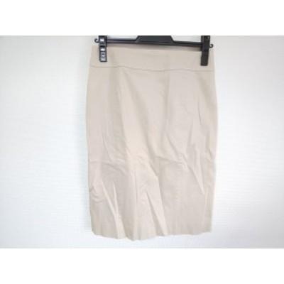 ニジュウサンク 23区 スカート サイズ36 S レディース 美品 ベージュ【中古】