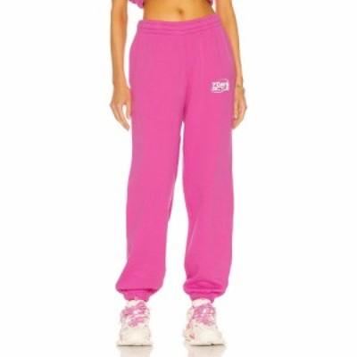 セブン デイズ アクティブ 7 Days Active レディース スウェット・ジャージ ボトムス・パンツ Monday Pants Fuchsia Pink