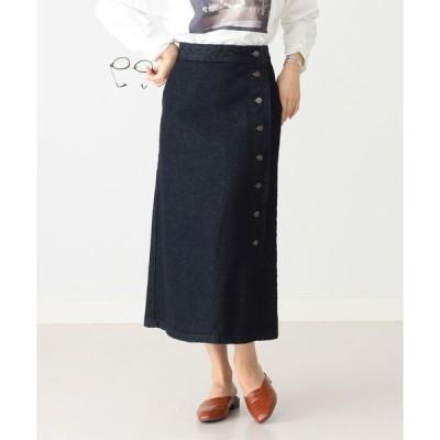 スカート SOMETHING × B:MING by BEAMS / 別注 サイドボタン スカート