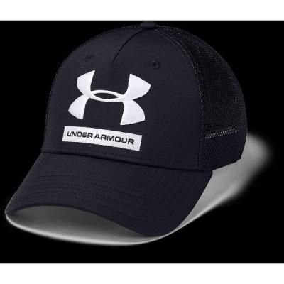 UNDER ARMOUR アンダーアーマー TRAINING TRUCKER CAP 1351417 001 スポーツアクセサリー 帽子 BLK/BLK/WHT ONESIZE
