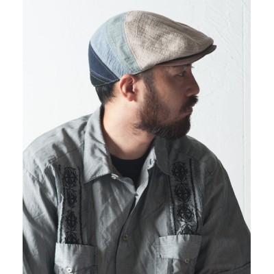 Ray's Store / Linen Boil Hunt Cool MEN 帽子 > ハンチング/ベレー帽