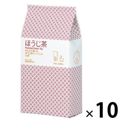 ハラダ製茶ハラダ製茶 みんなで楽しむほうじ茶ティーバッグ1L用 1ケース(520バッグ:52バッグ入×10袋)