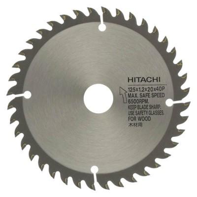 HiKOKI 一般木材用スタンダードチップソー 125mm 刃数40 0040-2525