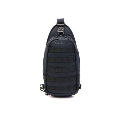 【ギャレリア】 マキャベリック ボディバッグ MAKAVELIC ワンショルダーバッグ 縦型 JADE ジェイド EXCLSV BODY BAG 3109-10313 ユニセックス ブラック F GALLERIA