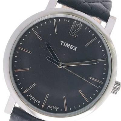 腕時計 メンズ タイメックス TIMEX クオーツ TW2P71100 ブラック ブラック