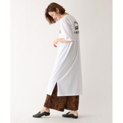 AG by aquagirl(エージー バイ アクアガール) 【別注アイテム】VANS(ヴァンズ)フロッキーロゴTシャツワンピース