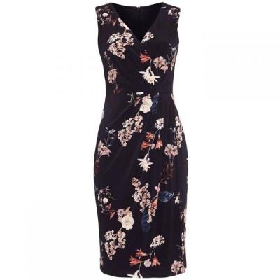 フェイズ エイト Phase Eight レディース ワンピース ワンピース・ドレス Fiona Floral Slinky Jersey Dress Navy