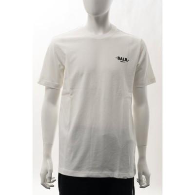 ボーラー Tシャツ 半袖 丸首 クルーネック メンズ B1112 1002 アイボリー BALR. 2021年春夏新作