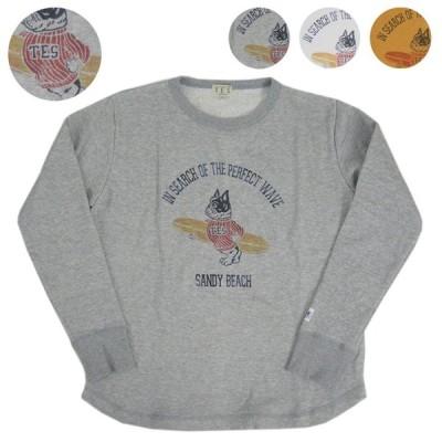 TES/エンドレスサマー BUHI スウェットシャツ TES LIGHT SWEAT SANDY BEACH