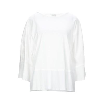 バランタイン BALLANTYNE T シャツ ホワイト 42 コットン 100% T シャツ