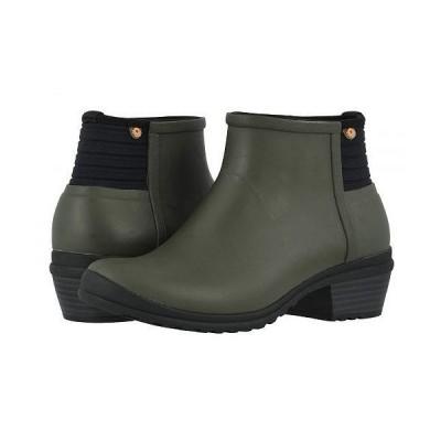 Bogs ボグス レディース 女性用 シューズ 靴 ブーツ レインブーツ Vista Ankle - Olive