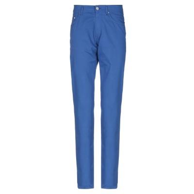 カールラガーフェルド KARL LAGERFELD パンツ ブルー 33W-34L コットン 97% / ポリウレタン 3% パンツ