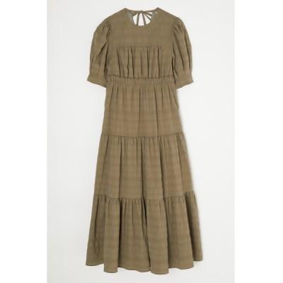 ワンピース TUCKED SLEEVE TIERED ドレス