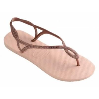 Havaianas ハワイアナス レディース 女性用 シューズ 靴 サンダル Luna Premium Flip-Flop Ballet Rose【送料無料】