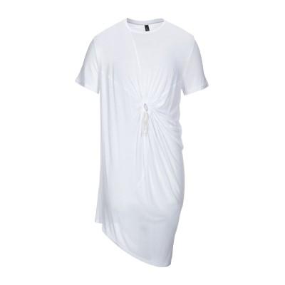トムレベル TOM REBL T シャツ ホワイト XS レーヨン 100% T シャツ