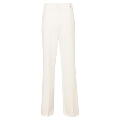 PLEASE パンツ ホワイト S ポリエステル 88% / ポリウレタン 12% パンツ