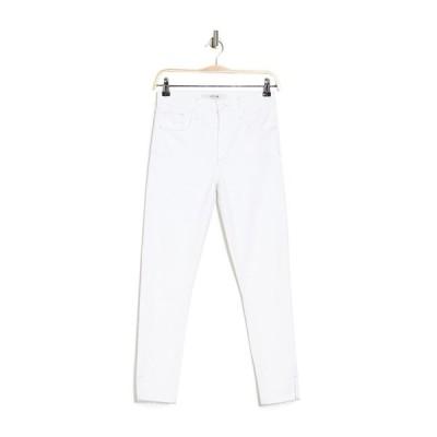 ジョーズジーンズ レディース デニムパンツ ボトムス High Rise Skinny Crop Jeans WHITE
